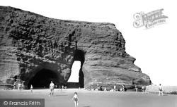 The Red Rock Arch c.1955, Dawlish Warren