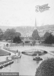 Dawlish, Water And Reformed Church 1903