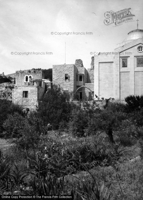 Photo of Dead Sea, Bethany, Fragments Of Crusader Castle 1965