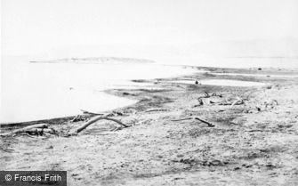 Dead Sea, the north shore 1857
