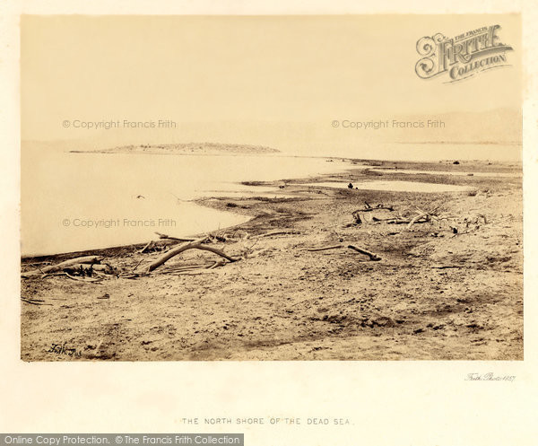 Photo of Dead Sea, The North Shore 1857