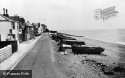 Deal, Beach And Coastguard Station c.1960