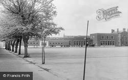 Deal, Royal Marines Depot, North Barracks Parade Ground c.1960