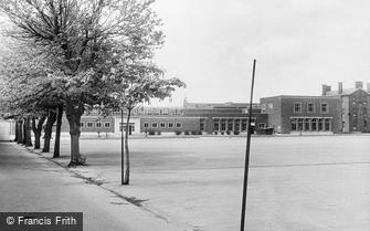 Deal, Royal Marines Depot, North Barracks Parade Ground c1960
