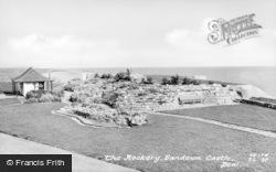 Deal, Sandown Castle, Rockery c.1950