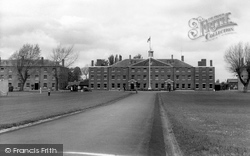 Deal, South Green And Officers Mess, Royal Marines Depot  c.1960
