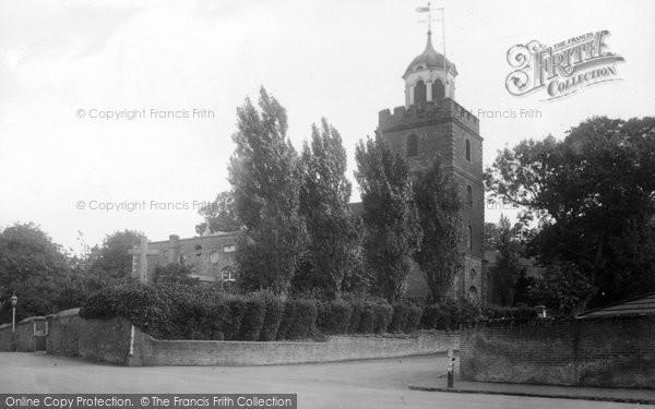 Photo of Deal, St Leonard's Church 1918