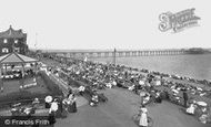 Deal, The Bandstand And The Pier 1906