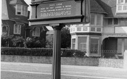 Deal, The Plaque, Walmer Green c.1955