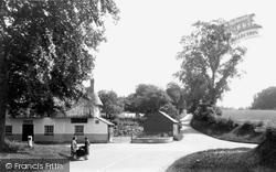 Debden, The Cross Roads c.1955