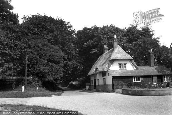 The Fox, Debden, c.1955 © Copyright The Francis Frith Collection 2005. http://www.francisfrith.com