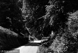 Debden, Water Lane c.1955