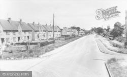 Deddington, Hempton Road c.1965