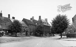 Deddington, Market Square c.1955