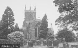 Deddington, The Church c.1955
