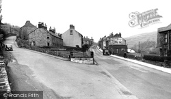 Deepcar, Haywood Lane And Manchester Road c.1955