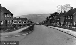 Deepcar, Heath Road And Lee Avenue c.1960