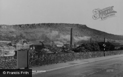 Deepcar, Wharncliffe Crags c.1955