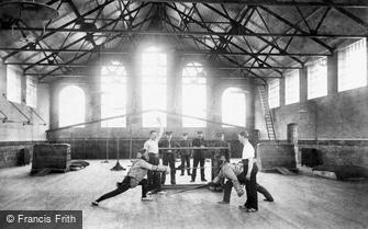 Deepcut, Blackdown Camp, Gymnasium, 'First Point' 1906