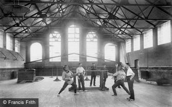 Deepcut, Blackdown Camp, Gymnasium, 'the Engage' 1906
