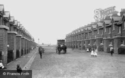 Blackdown Camp, Married Quarters 1906, Deepcut