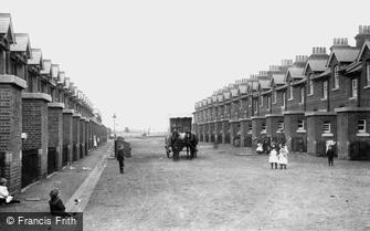 Deepcut, Blackdown Camp, Married Quarters 1906