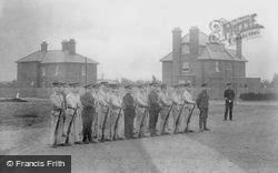 Blackdown Camp, Parade Ground 1906, Deepcut