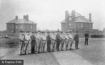 Deepcut, Blackdown Camp, Parade Ground 1906