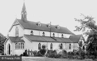 Deepcut, Deepcut Camp, Garrison Church 1906
