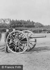 Deepcut, Deepcut Camp, Gun Drill 'in Action' 1906
