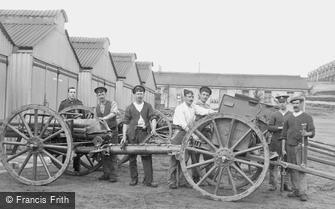 Deepcut, Deepcut Camp, Gunners at Work 1906