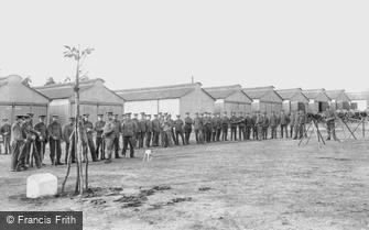 Deepcut, Deepcut Camp, Musketry Instruction 1906