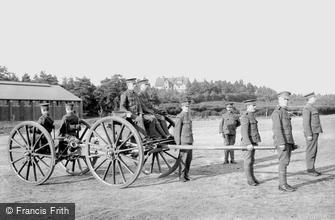 Deepcut, Deepcut Camp, RFA and Gen. Alderson's House 1906