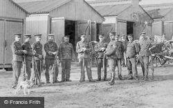 Deepcut Camp, Soldiers, Gun Park 1906, Deepcut
