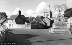 Deeping St James, St James Priory Church And Cross c.1965