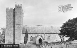 Defynnog, The Church Of St Cynog c.1955