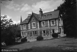 Deganwy, Bryn Cregin Private Hotel  c.1939