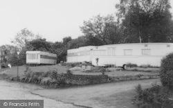 Delamere, Caravan Site c.1960