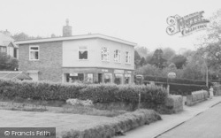 Delamere, Post Office, Station Road c.1960