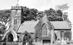 Delamere, St Peter's Church c.1955
