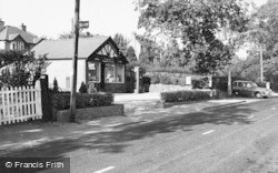 Delamere, The Post Office c.1955