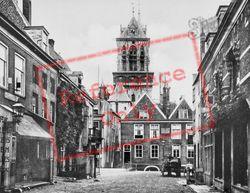 Botebrug And Studhuis c.1920, Delft