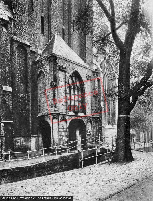Photo of Delft, Oude Kerk c.1920