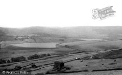 Castleshaw Reservoirs c.1955, Delph