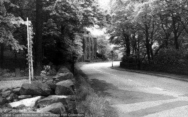 Delph, Denshaw Road, Linfitts c1955