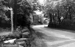 Denshaw Road, Linfitts c.1955, Delph