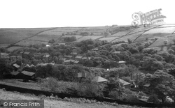 From Stoneswood Road c.1955, Delph