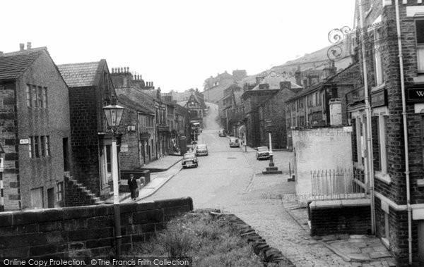 Delph, King Street c1955