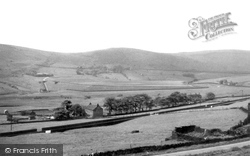 Old Hey And Castleshaw Reservoir c.1955, Delph