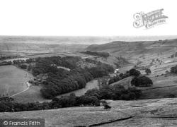 Slackcote And West View c.1955, Delph